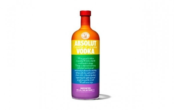absolut vodka במחווה לקהילה הגאה